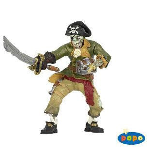 Papo Figurine Zombie Pirate - Jouets LOL Toys
