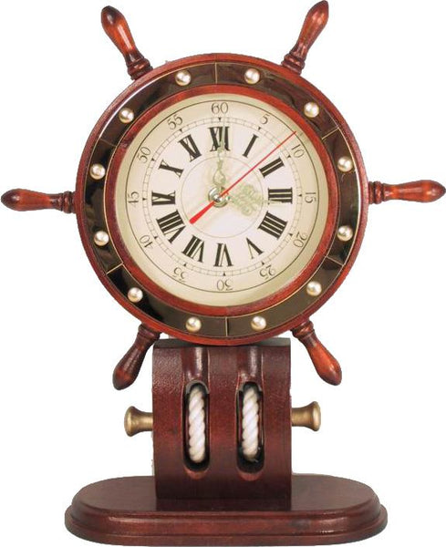 Boat Wheel Anchor Clock - Jouets LOL Toys