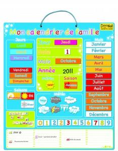 Magnetic Family Calendar - Jouets LOL Toys
