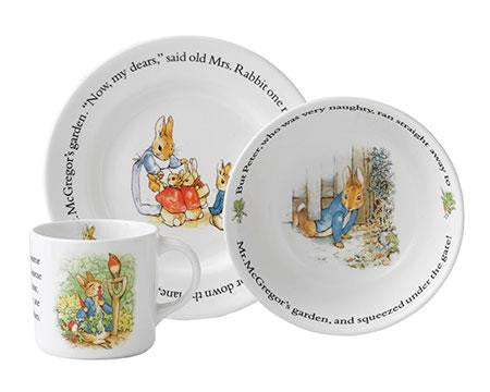 Peter Rabbit Classic Dish Set - Jouets LOL Toys