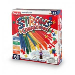 Straws and Connectors 230 pcs - Jouets LOL Toys
