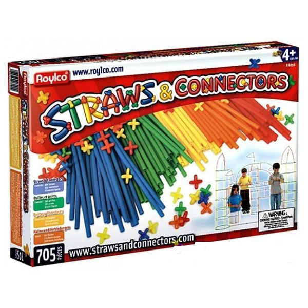 Straws and Connectors 705 pcs - Jouets LOL Toys