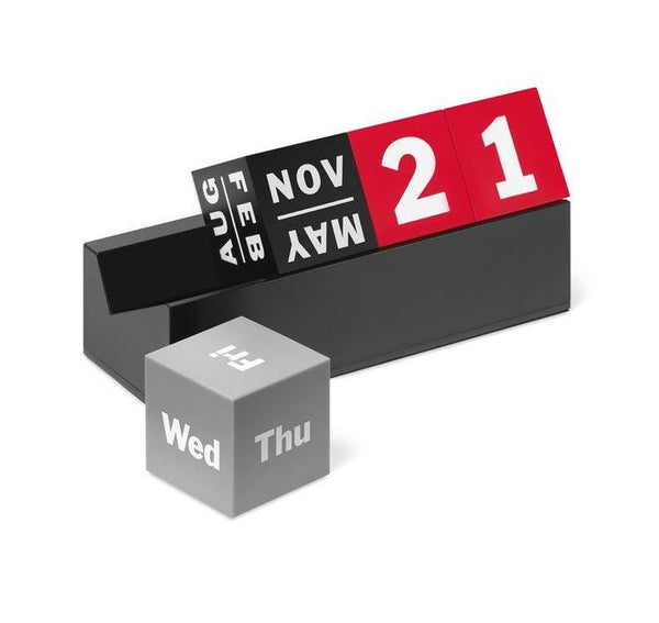 MoMA Calendar Perpetual Cubes - Jouets LOL Toys