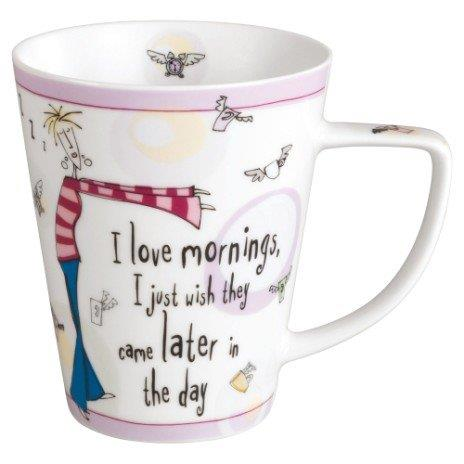 WWRD Born to Shop Mug I Love Mornings Mug - Jouets LOL Toys
