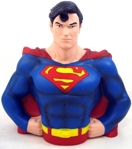 DC Superman Bust Bank - Jouets LOL Toys
