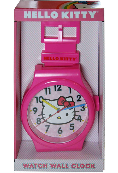 Sanrio Hello Kitty Watch Wall Clock - Jouets LOL Toys