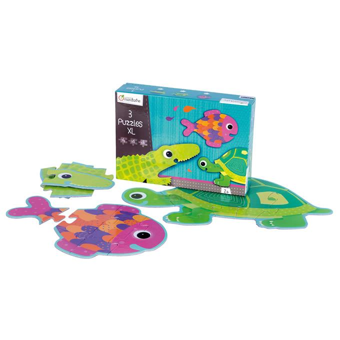 Avenue Mandarine Puzzle XL Sea Animals - Jouets LOL Toys