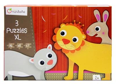 Avenue Mandarine Puzzle XL Furry Animals - Jouets LOL Toys