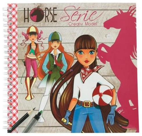 Avenue Mandarine Horse Series Coloring Book - Jouets LOL Toys