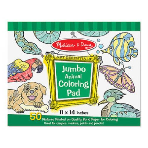 Melissa & Doug Coloring Book Animals - Jouets LOL Toys