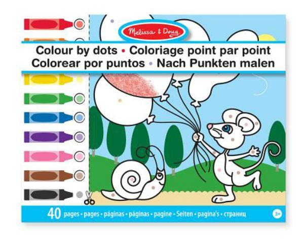 Melissa & Doug Coloring Book Dots