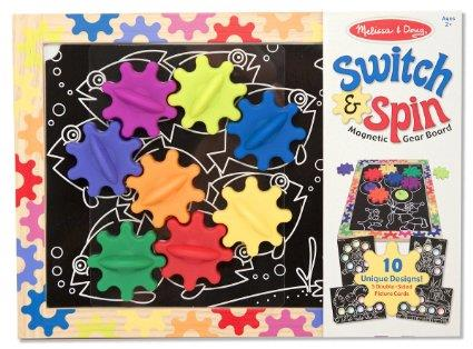 Melissa & Doug Switchspin Magnetic Gear - Jouets LOL Toys
