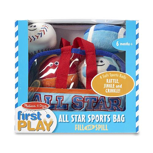 Melissa & Doug Sports Bag Fillspill - Jouets LOL Toys