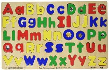 Melissa & Doug Upper And Lowercase Alphabet - Jouets LOL Toys