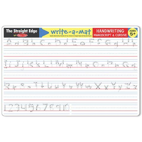 Melissa & Doug Write A Mat Handwriting - Jouets LOL Toys