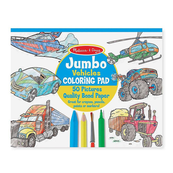 Melissa & Doug Coloring Book Vehicles - Jouets LOL Toys