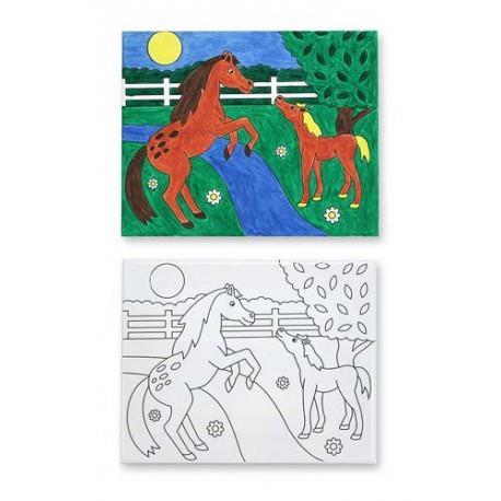 Melissa & Doug Canvas Creations Horse - Jouets LOL Toys