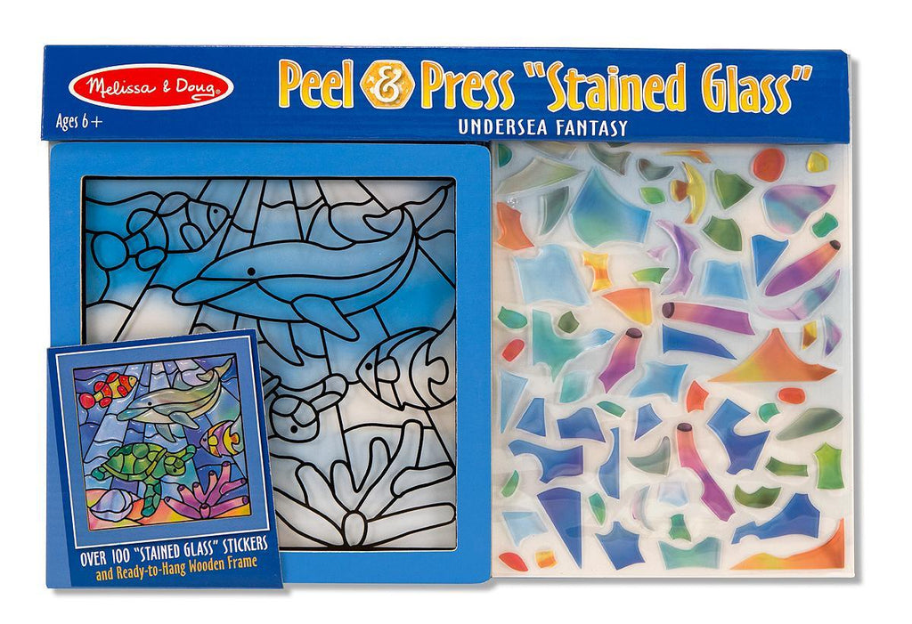 Melissa & Doug Stained Glass Undersea Fan - Jouets LOL Toys