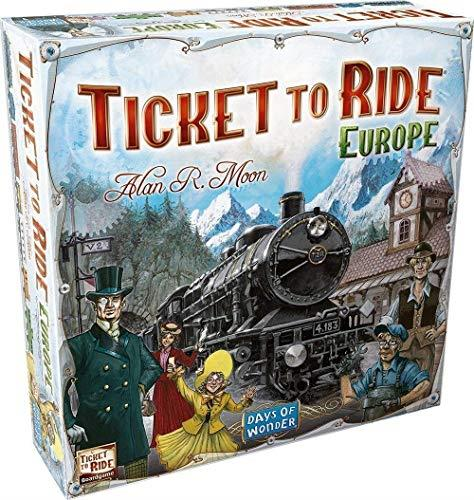 Ticket to Ride Europe - Jouets LOL Toys