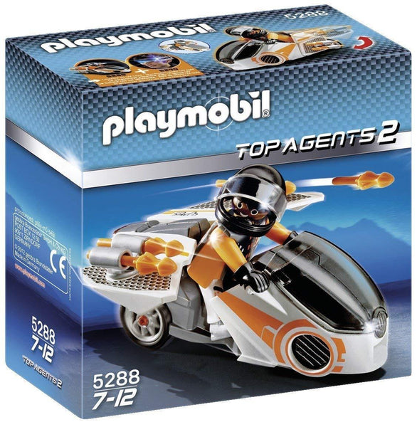 Playmobil Spy Team Skybike - Jouets LOL Toys