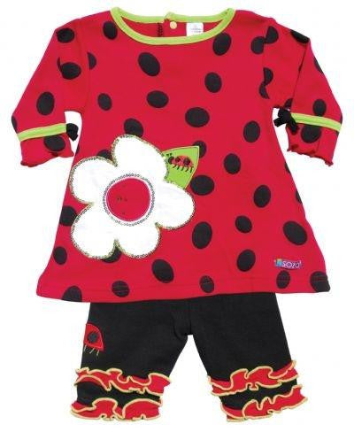 SOZO Ladybug Dress & Leggings - Jouets LOL Toys