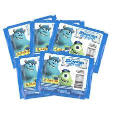 Disney Monsters Inc Monster University Panini Stickers - Jouets LOL Toys