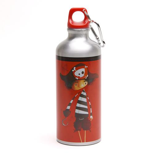 Tin Water Bottle Pirate Gourde Pirate - Jouets LOL Toys