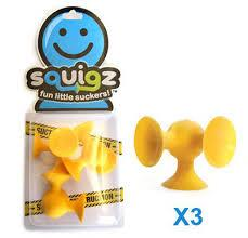 Squigz Skooch Yellow Add On - Jouets LOL Toys