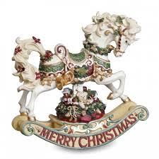 Christmas Rhapsody Rocking Horse Figurine - Jouets LOL Toys