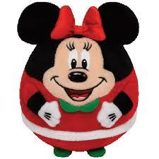 TY Disney Beanie Ballz - Minnie Mouse Santa Suit (Small) - Jouets LOL Toys