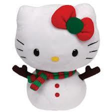 TY Hello Kitty Snowgirl (Small) - Jouets LOL Toys