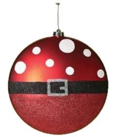 Roman Santa Claus Polka Dots Belt Disc Ornament - Jouets LOL Toys