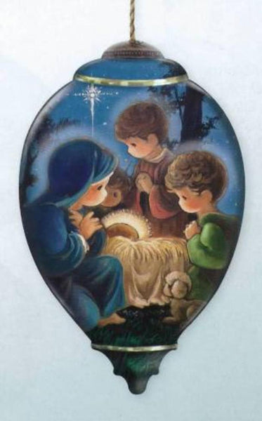 Precious Moment Glory To The Newbown King Ornament