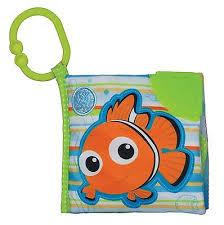 Disney Baby Finding Nemo On The Go Soft Teether Book - Jouets LOL Toys