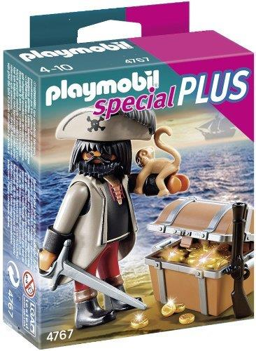 Playmobil Evil Pirate with Treasure Chest - Jouets LOL Toys