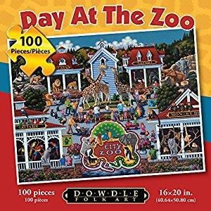 Day at the Zoo 100Pc Puzzle - Jouets LOL Toys