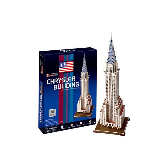 3D Puzzle Chrysler Building - Jouets LOL Toys