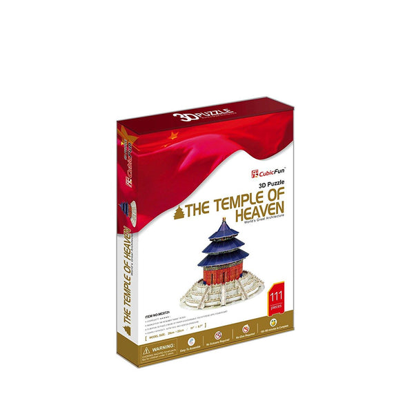 3D Puzzle The Temple Of Heaven - Jouets LOL Toys