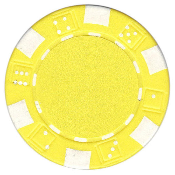 Poker Chips Yellow - Jouets LOL Toys