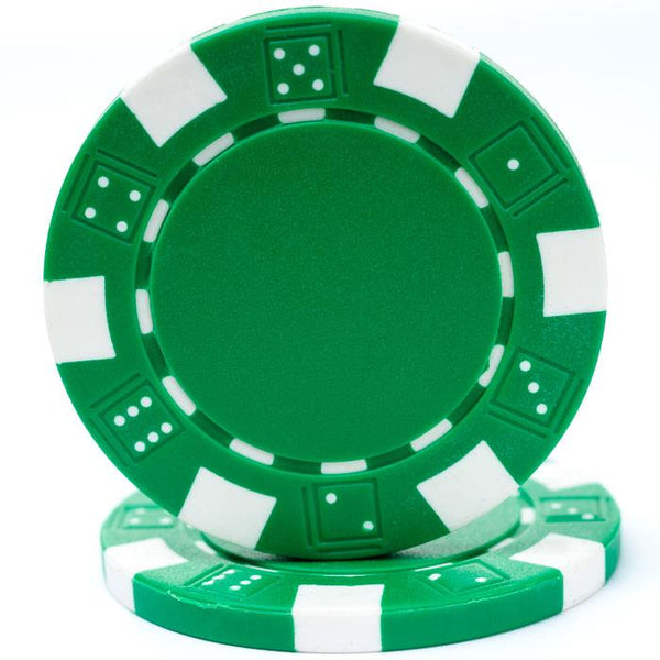 Poker Chips Green - Jouets LOL Toys