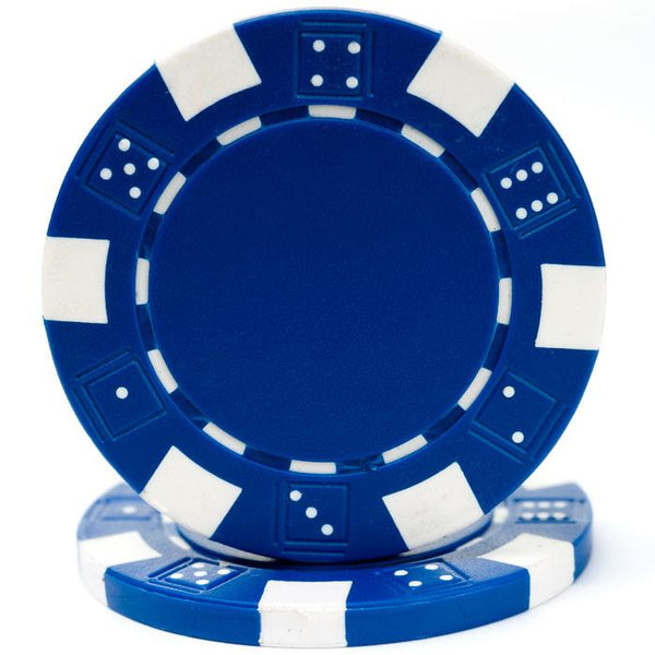 Poker Chips Blue - Jouets LOL Toys