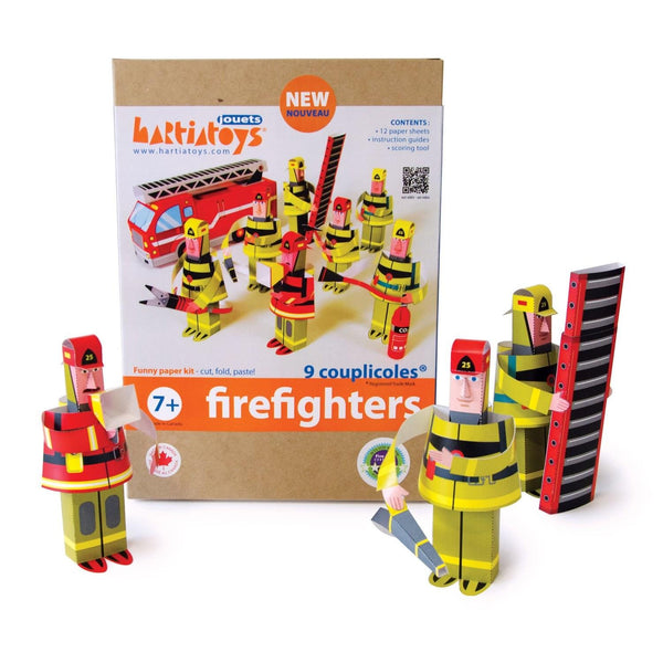 Hartiatoys DIY Paper Craft Kit Firefighters - Jouets LOL Toys