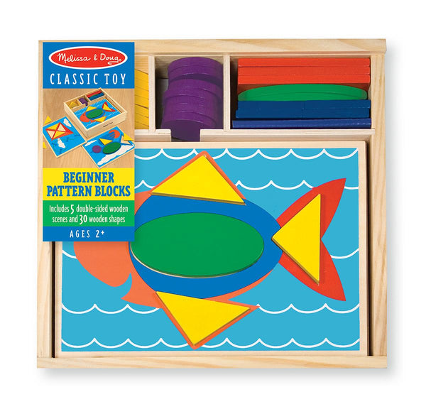 Melissa & Doug Beginner Pattern Blocks - Jouets LOL Toys