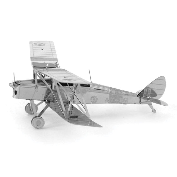 Metal Earth De Havilland Tiger Moth Plane Metal 3D Model
