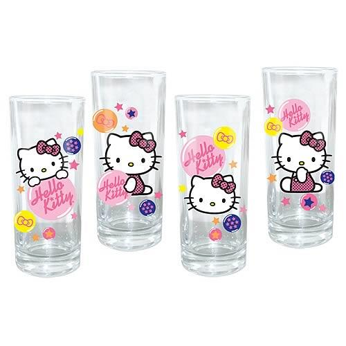 Hello Kitty Glasses (Set of 4) - Jouets LOL Toys