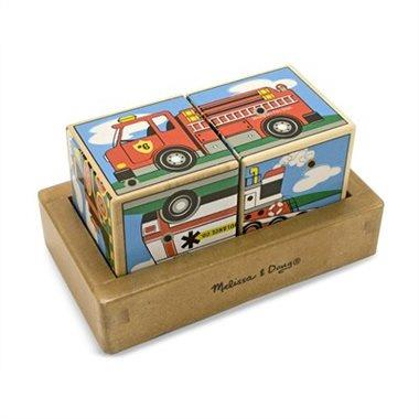 Melissa & Doug Vehicles Sound Blocks - Jouets LOL Toys
