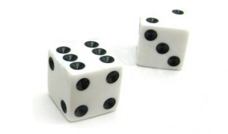 Dice Pair 12mm - Jouets LOL Toys