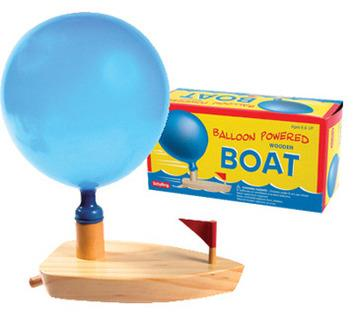 Schylling Balloon Powered Boat - Jouets LOL Toys