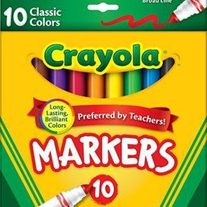 Crayola 10 Markers - Jouets LOL Toys