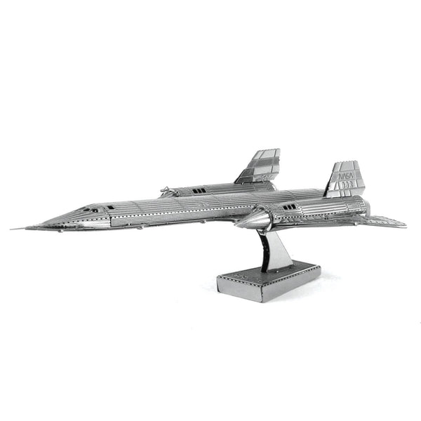 Metal Earth SR-71 Blackbird Plane Metal 3D Model
